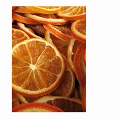 Oranges 5 Large Garden Flag (two Sides) by trendistuff