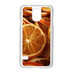 Oranges 5 Samsung Galaxy S5 Case (white) by trendistuff
