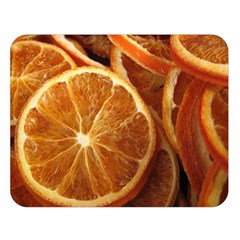 Oranges 5 Double Sided Flano Blanket (large)  by trendistuff