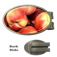 Peaches 1 Money Clips (oval)  by trendistuff