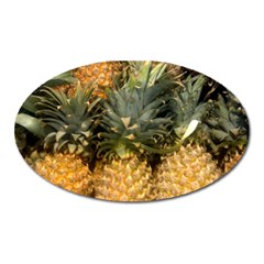 Pineapple 1 Oval Magnet by trendistuff