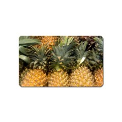 Pineapple 1 Magnet (name Card) by trendistuff