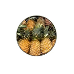 Pineapple 1 Hat Clip Ball Marker (4 Pack) by trendistuff