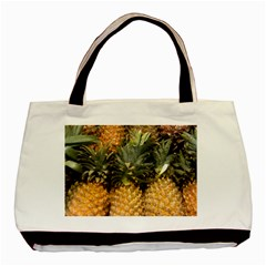 Pineapple 1 Basic Tote Bag (two Sides) by trendistuff