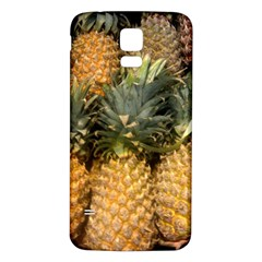 Pineapple 1 Samsung Galaxy S5 Back Case (white) by trendistuff