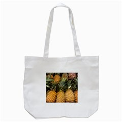 Pineapple 1 Tote Bag (white) by trendistuff