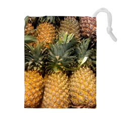 Pineapple 1 Drawstring Pouches (extra Large) by trendistuff
