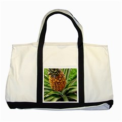 Pineapple 2 Two Tone Tote Bag by trendistuff