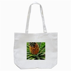 Pineapple 2 Tote Bag (white) by trendistuff