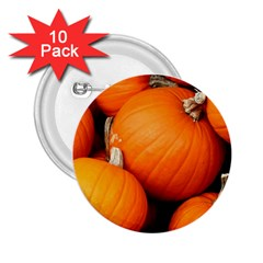 Pumpkins 1 2 25  Buttons (10 Pack)  by trendistuff
