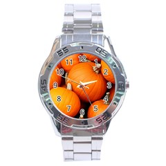 Pumpkins 1 Stainless Steel Analogue Watch by trendistuff