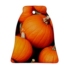 Pumpkins 1 Bell Ornament (two Sides) by trendistuff
