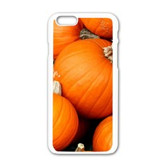 Pumpkins 1 Apple Iphone 6/6s White Enamel Case by trendistuff