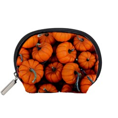 Pumpkins 2 Accessory Pouches (small)  by trendistuff