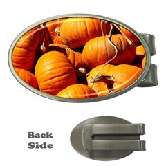 Pumpkins 3 Money Clips (oval)  by trendistuff