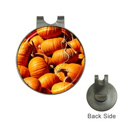 Pumpkins 3 Hat Clips With Golf Markers
