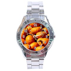 Pumpkins 3 Stainless Steel Analogue Watch by trendistuff