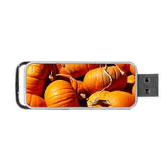Pumpkins 3 Portable Usb Flash (two Sides) by trendistuff