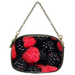 Raspberries 1 Chain Purses (two Sides)  by trendistuff