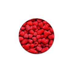 Raspberries 2 Golf Ball Marker (4 Pack) by trendistuff