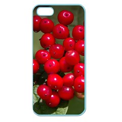 Red Berries 2 Apple Seamless Iphone 5 Case (color) by trendistuff
