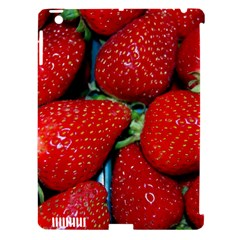 Strawberries 3 Apple Ipad 3/4 Hardshell Case (compatible With Smart Cover) by trendistuff