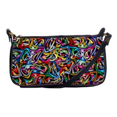 Artwork By Patrick Colorful 8 Shoulder Clutch Bags by ArtworkByPatrick