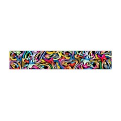Artwork By Patrick Colorful 8 Flano Scarf (mini) by ArtworkByPatrick