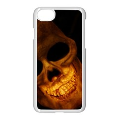 Skull Apple Iphone 7 Seamless Case (white)