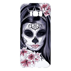 Day Of The Dead Sugar Skull Samsung Galaxy S8 Plus Hardshell Case  by StarvingArtisan