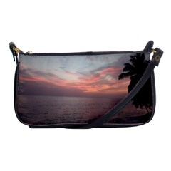 Red Sunset Rincon Puerto Rico Shoulder Clutch Bags by StarvingArtisan