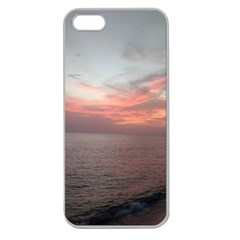 Red Sunset Rincon Puerto Rico Apple Seamless Iphone 5 Case (clear) by StarvingArtisan