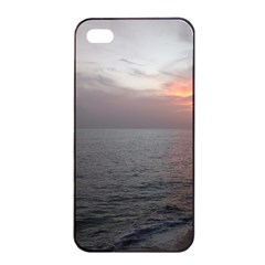 Sunset Apple Iphone 4/4s Seamless Case (black) by StarvingArtisan