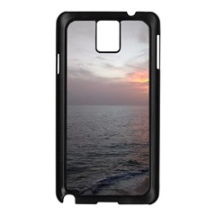 Sunset Samsung Galaxy Note 3 N9005 Case (black) by StarvingArtisan