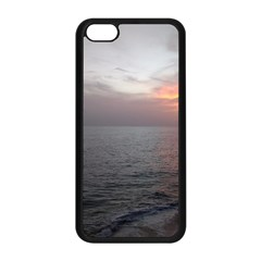 Sunset Apple Iphone 5c Seamless Case (black) by StarvingArtisan
