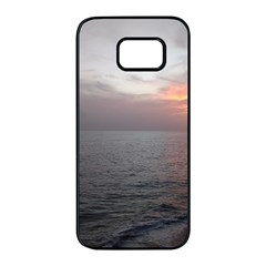 Sunset Samsung Galaxy S7 Edge Black Seamless Case by StarvingArtisan