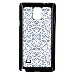 Radial Mandala Ornate Pattern Samsung Galaxy Note 4 Case (black) by dflcprints
