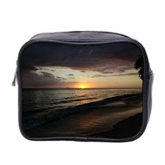 Sunset On Rincon Puerto Rico Mini Toiletries Bag 2 Side by StarvingArtisan
