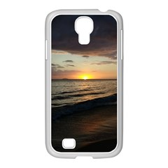 Sunset On Rincon Puerto Rico Samsung Galaxy S4 I9500/ I9505 Case (white) by StarvingArtisan