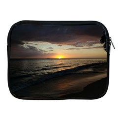 Sunset On Rincon Puerto Rico Apple Ipad 2/3/4 Zipper Cases by StarvingArtisan
