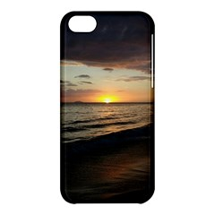 Sunset On Rincon Puerto Rico Apple Iphone 5c Hardshell Case by StarvingArtisan