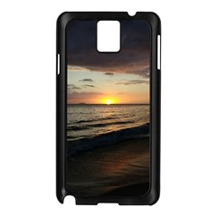 Sunset On Rincon Puerto Rico Samsung Galaxy Note 3 N9005 Case (black) by StarvingArtisan