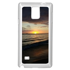 Sunset On Rincon Puerto Rico Samsung Galaxy Note 4 Case (white) by StarvingArtisan