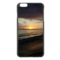 Sunset On Rincon Puerto Rico Apple Iphone 6 Plus/6s Plus Black Enamel Case by StarvingArtisan