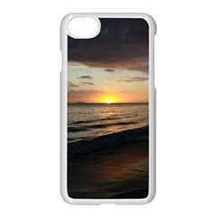 Sunset On Rincon Puerto Rico Apple Iphone 8 Seamless Case (white) by StarvingArtisan