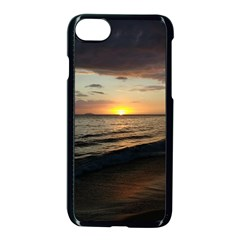 Sunset On Rincon Puerto Rico Apple Iphone 8 Seamless Case (black) by StarvingArtisan
