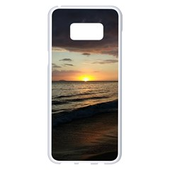 Sunset On Rincon Puerto Rico Samsung Galaxy S8 Plus White Seamless Case by StarvingArtisan