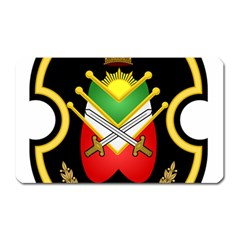 Shield Of The Imperial Iranian Ground Force Magnet (rectangular) by abbeyz71
