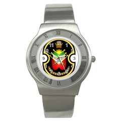 Shield Of The Imperial Iranian Ground Force Stainless Steel Watch by abbeyz71
