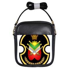 Shield Of The Imperial Iranian Ground Force Girls Sling Bags by abbeyz71